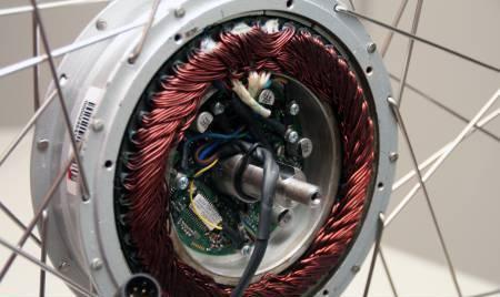 Elektrische fiets achterwiel magneet reparatie